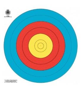 World Archery (FITA) ALVO OFICIAL 5-10 (48CM» ALVO 80)