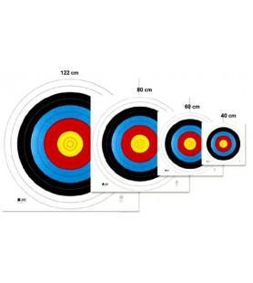 WA ALVOS OFICIAIS 60 CM, pontuações 1-10 (un )